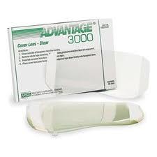MSA Clear Cover Lens For Advantage+ 3000 Respirator