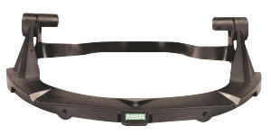 MSA Black Plastic V-Gard� Standard Visor Frame With 3 Point Suspension For Use With Standard Series Hard Hats