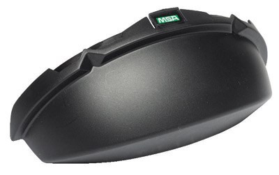 MSA Black Opaque V-Gard� Standard Tinted Chin Protector For Use With Slotted Caps