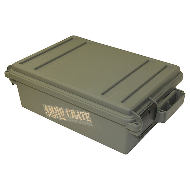 MTM Ammo Crate Utility Box   570 Army Green