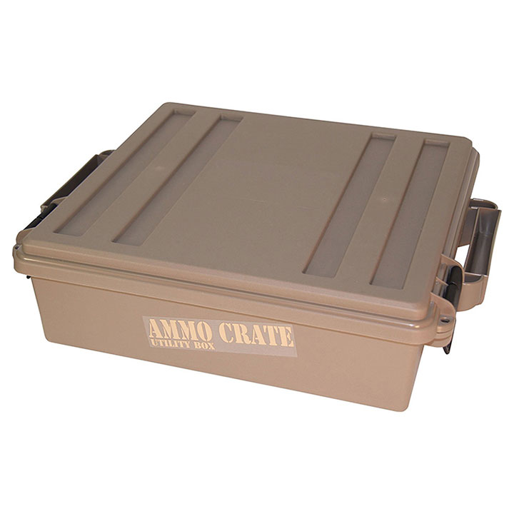 MTM Ammo Crate Utility Box   920 Dark Earth