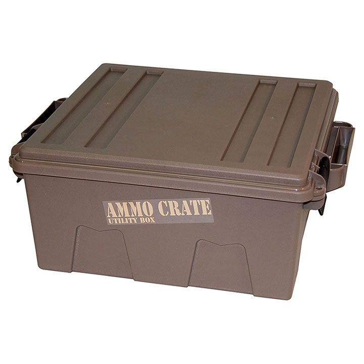 MTM Ammo Crate Utility Box   1370 Dark Earth