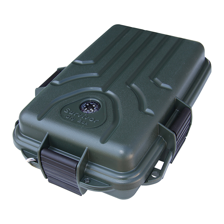 MTM Survivor Dry Box - Small 10x7x3 Inch Forest Green
