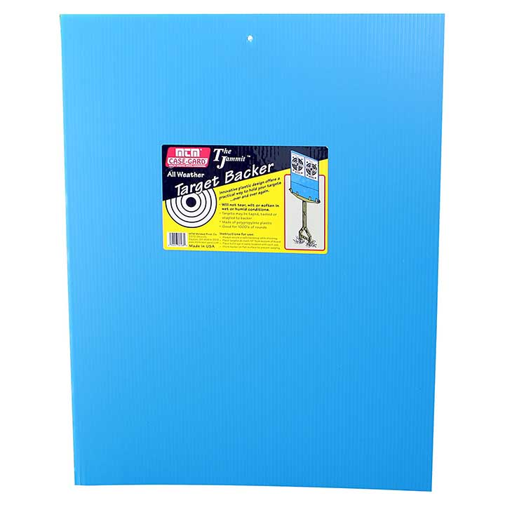MTM Jammit Target Stand Backer Target Holder Sheet 17.5x23  Inch Blue