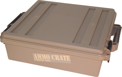 MTM Ammo Crate Utility Box-Dark Earth