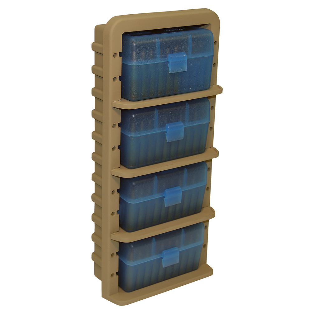 MTM Ammo Rack with 4 RS5024 Ammo Boxes