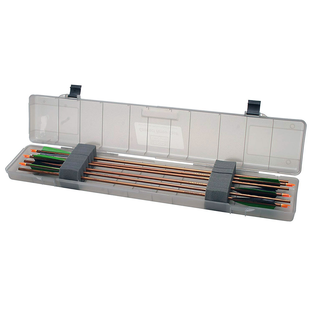 MTM Compact Arrow Case 18 arrows up to 35.75In Clear Smoke