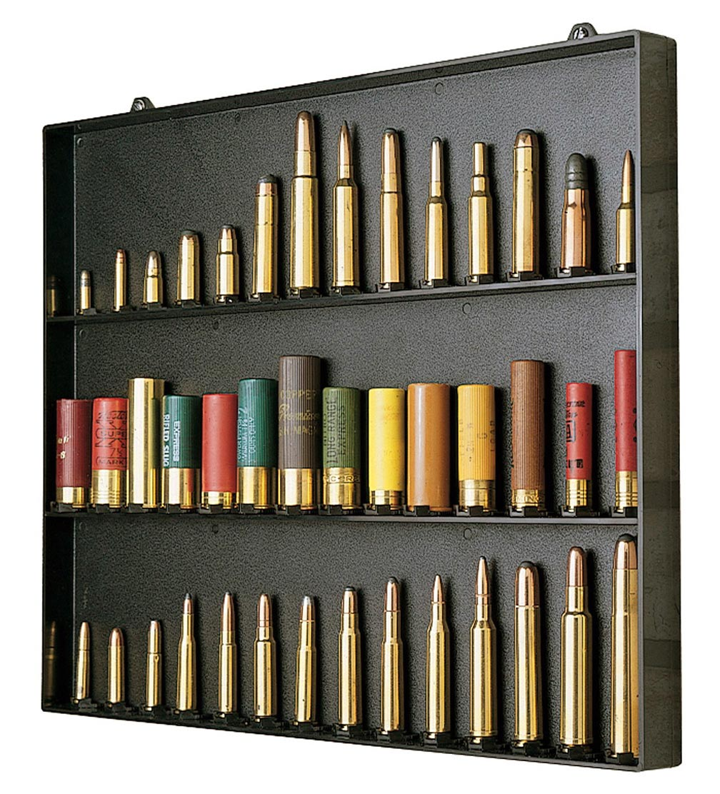 MTM Cartridge Display Board holds 42 .22CB upto 10Gauge