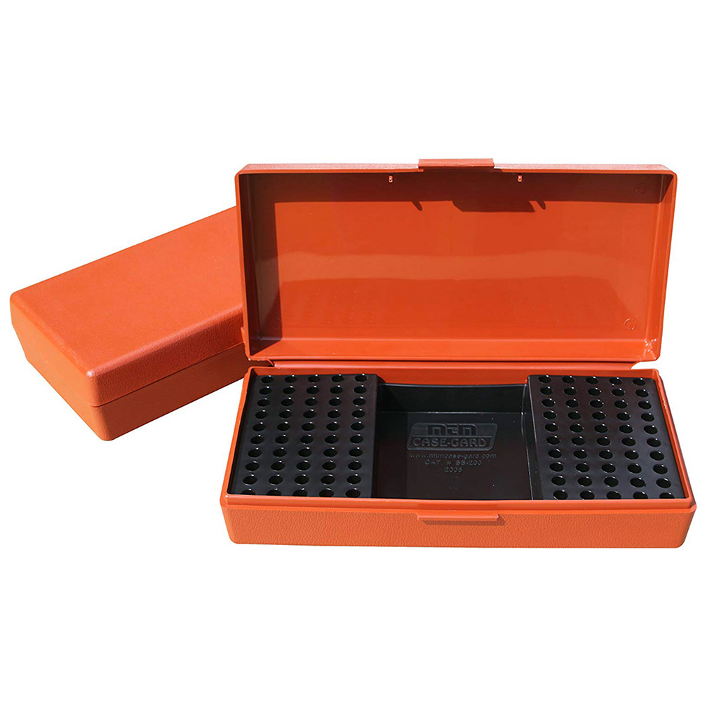 MTM Ammo Box 100 Round 22 Long Rifle Rimfire Competition Rust