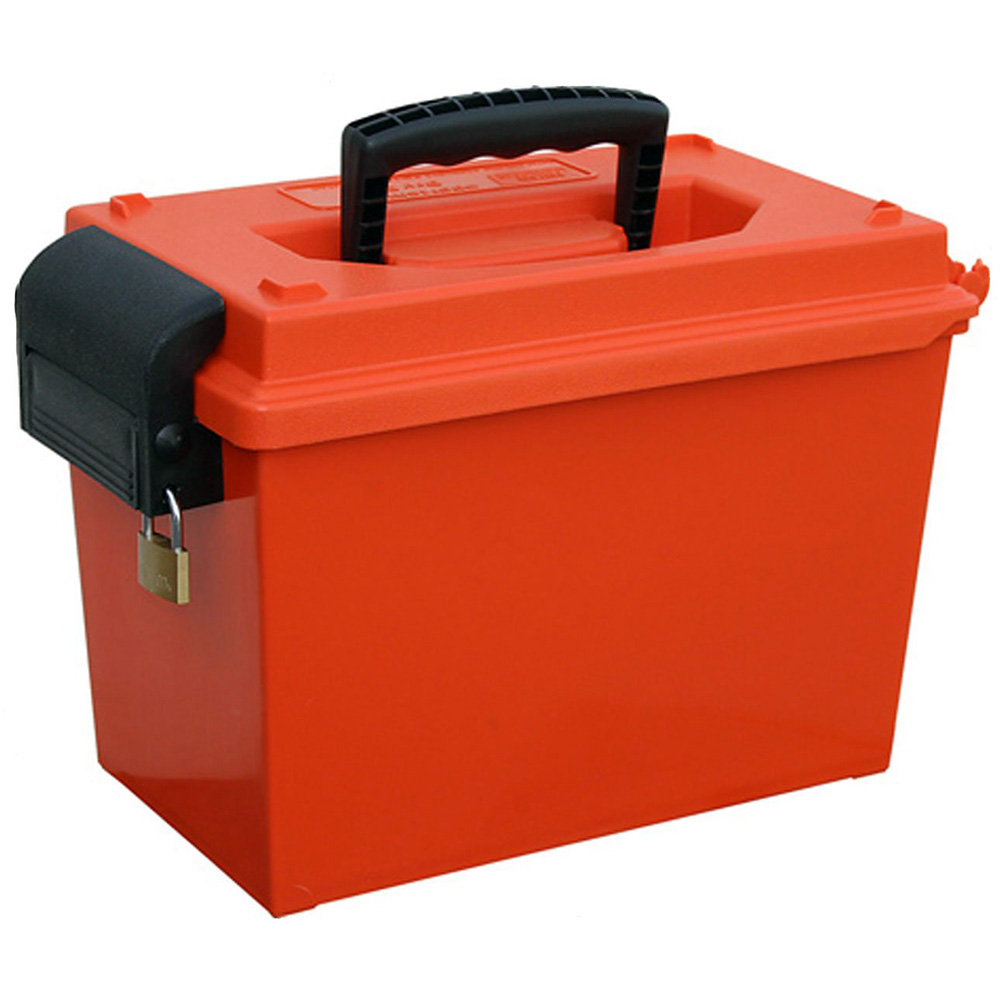 MTM Sportsmens Dry Box ORing Sealed 14x7.5x9In Orange