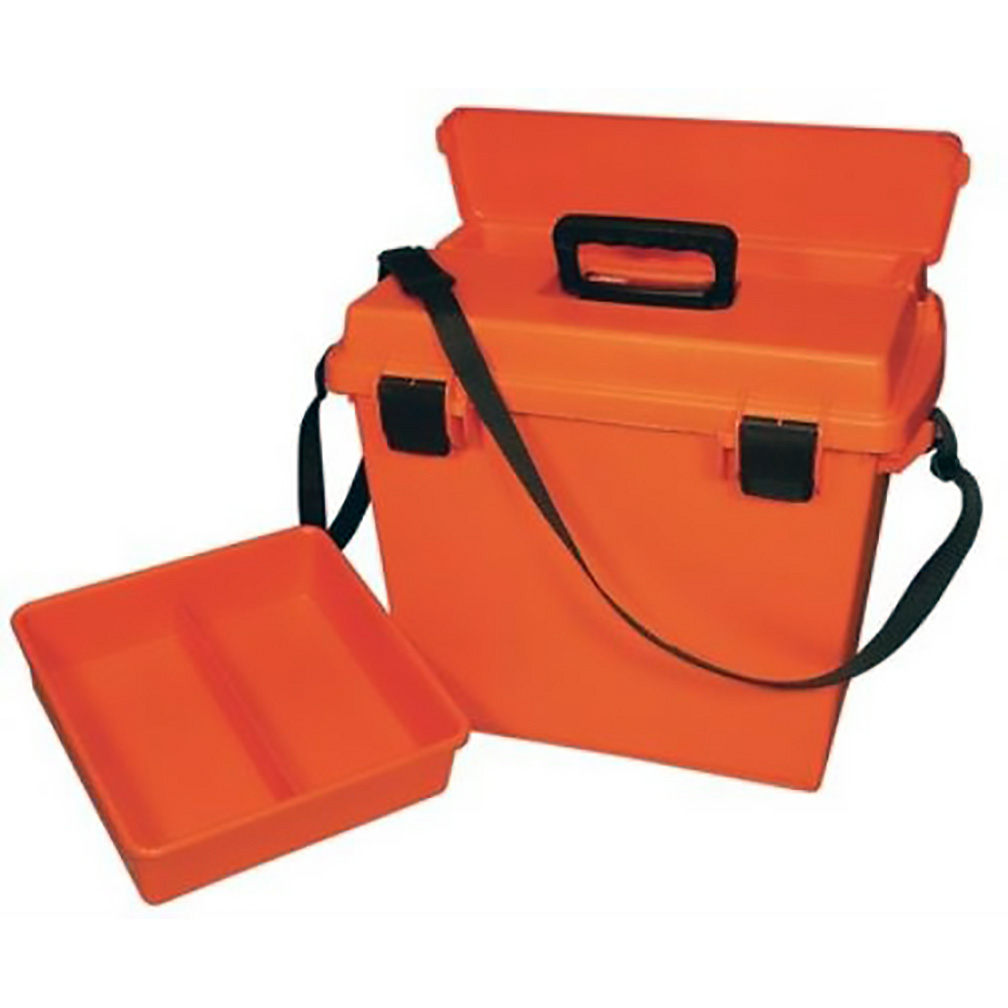 MTM Sportsmens Plus Utility Dry Box ORing Sealed 19x13x15.1In Orange