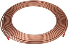 COPPER REFRIGERATION TUBING, 1/2 IN. OD X 100 FT.