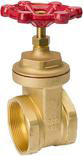 100011 4 IN. BRASS GATE VALVE