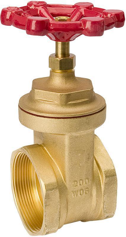 100010 3 IN. BRASS GATE VALVE