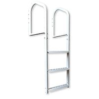 Multinautic 15503 Extra Strong Dock Ladder, 40 x 9 cm, Steel, Duracoated