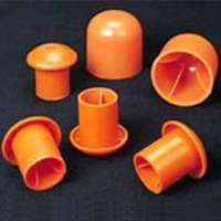 Mutual 14640-2 Mushroom Rebar Cap, Orange