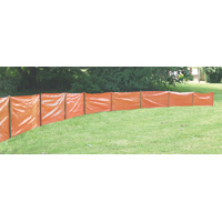 Mutual 14987-45-36 Economy Silt Fence, 100 ft L x 36 in W, 1-1/2 X 1-1/2 in Mesh