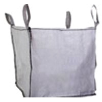 Mutual Industries 14981-3 Builder Bag, 43 in L x 39 in W x 38 in D, Woven Polypropylene