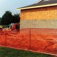Guardian 14993-48 Lightweight Safety Fence, 100 ft L x 4 ft W, 1-1/4 X 4 in Mesh, Plastic