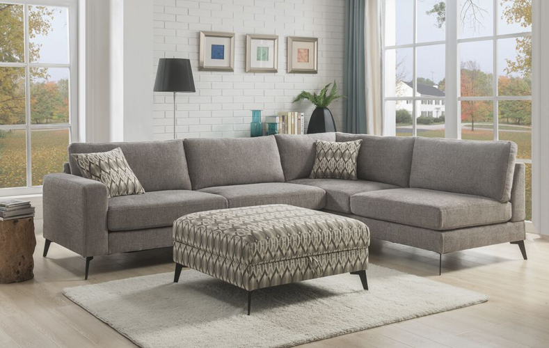 Venice Gray Sectional