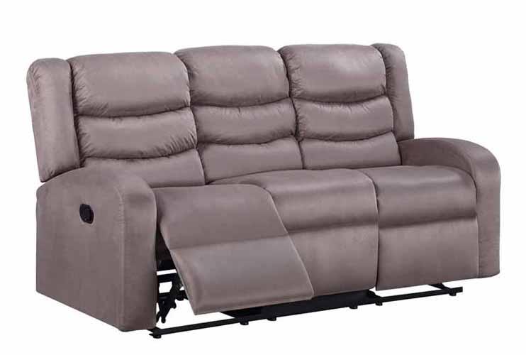 Deana Taupe Fabric Sofa
