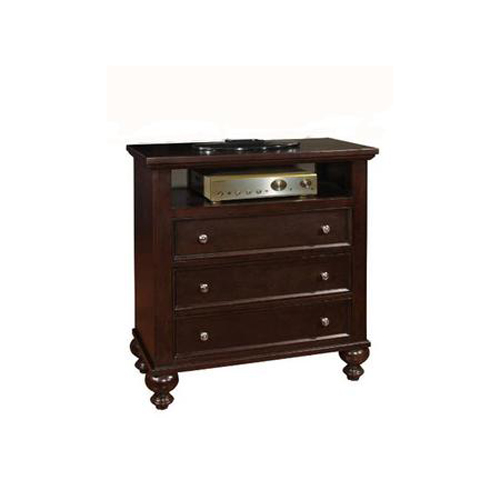 Asher TV Media Console Chest