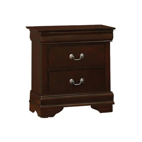 Cambridge Nightstand in Brown Finish