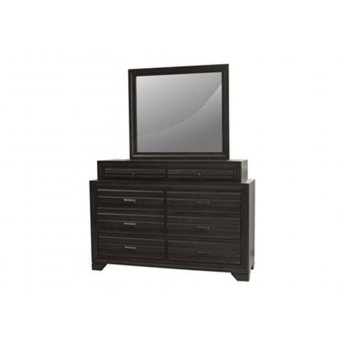 Eddison Dresser in Gray Finish