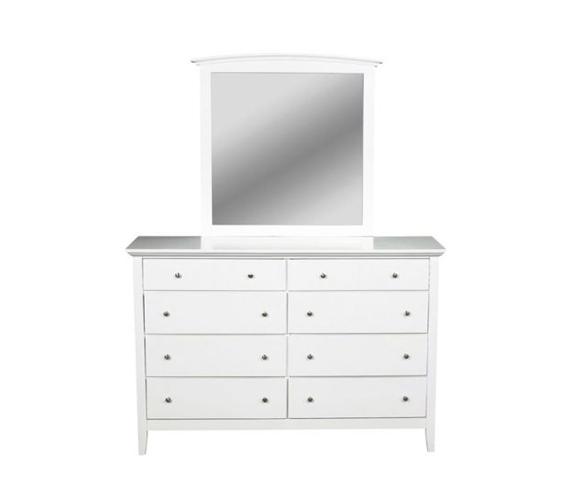 Whistler Dresser in White Finish