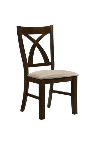 Dining RoomFairmon Side Chair, Brown