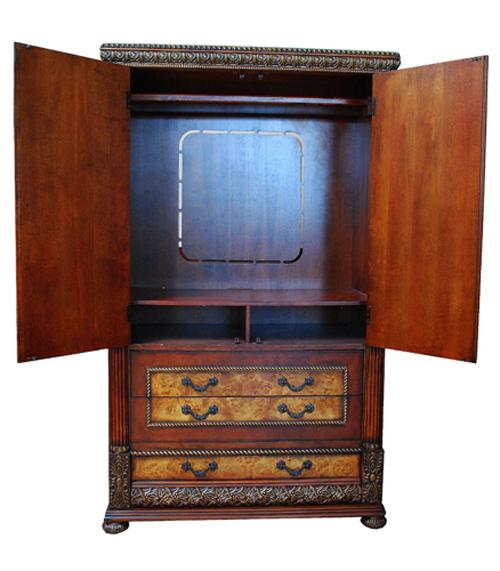 Bella Wardrobe Closet Armoire Cabinet