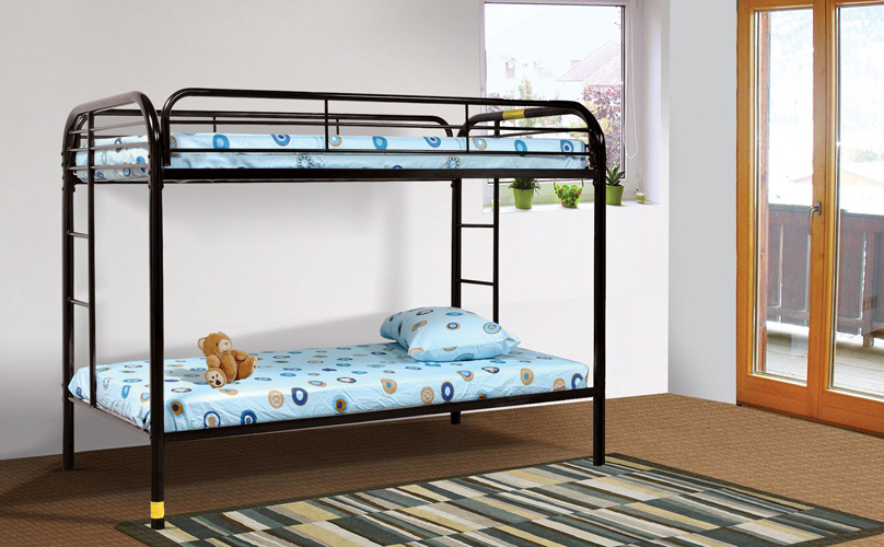 Bedroom Sade Twin/Twin Bunk Bed, Black