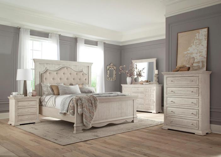 Avondale King Upholstered Bed