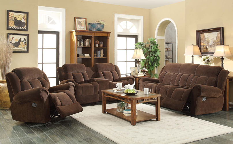 Basha Fabric Recliner Sofa in Polyester Fabric
