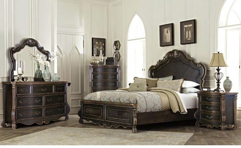 Bedroom Bordeaux Dresser