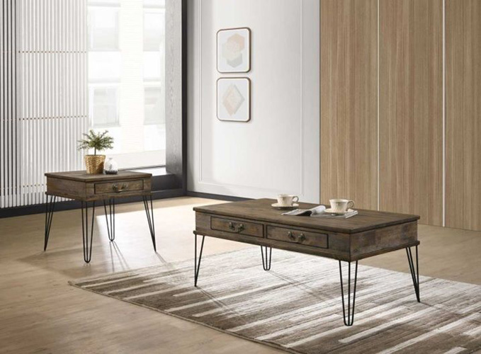 Occasional & Accent TablesCalvin 2 Drawers Coffee Table