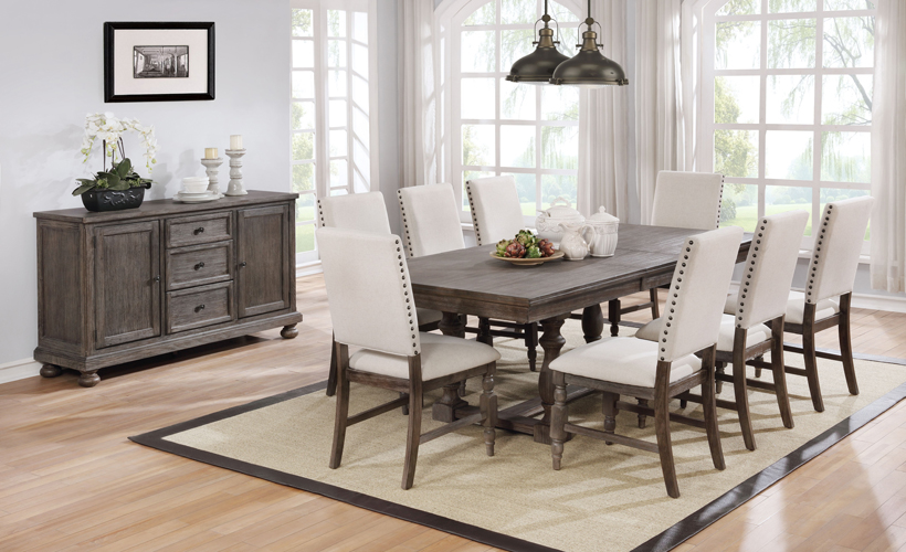 Crestwood Side Chair in Antiqued Oak Finish