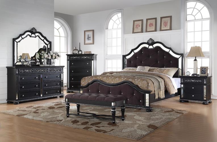 Bedroom Kelly Black Chest