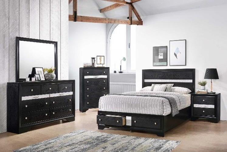 Bedroom Logan Chest, Black