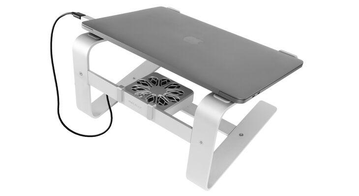 Aluminum Latptop Stand Fan