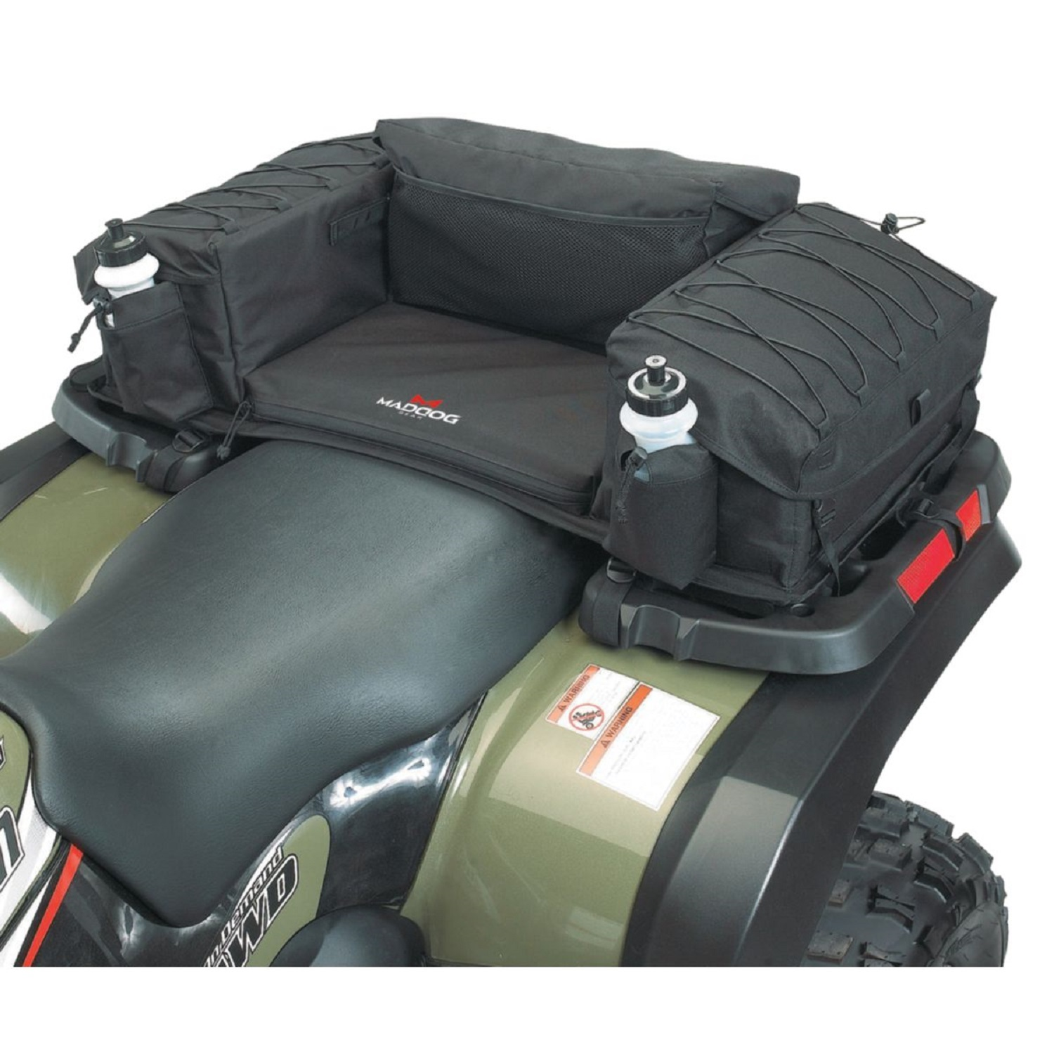 MadDog Gear ATV Rear Padded Bottom Bag Black