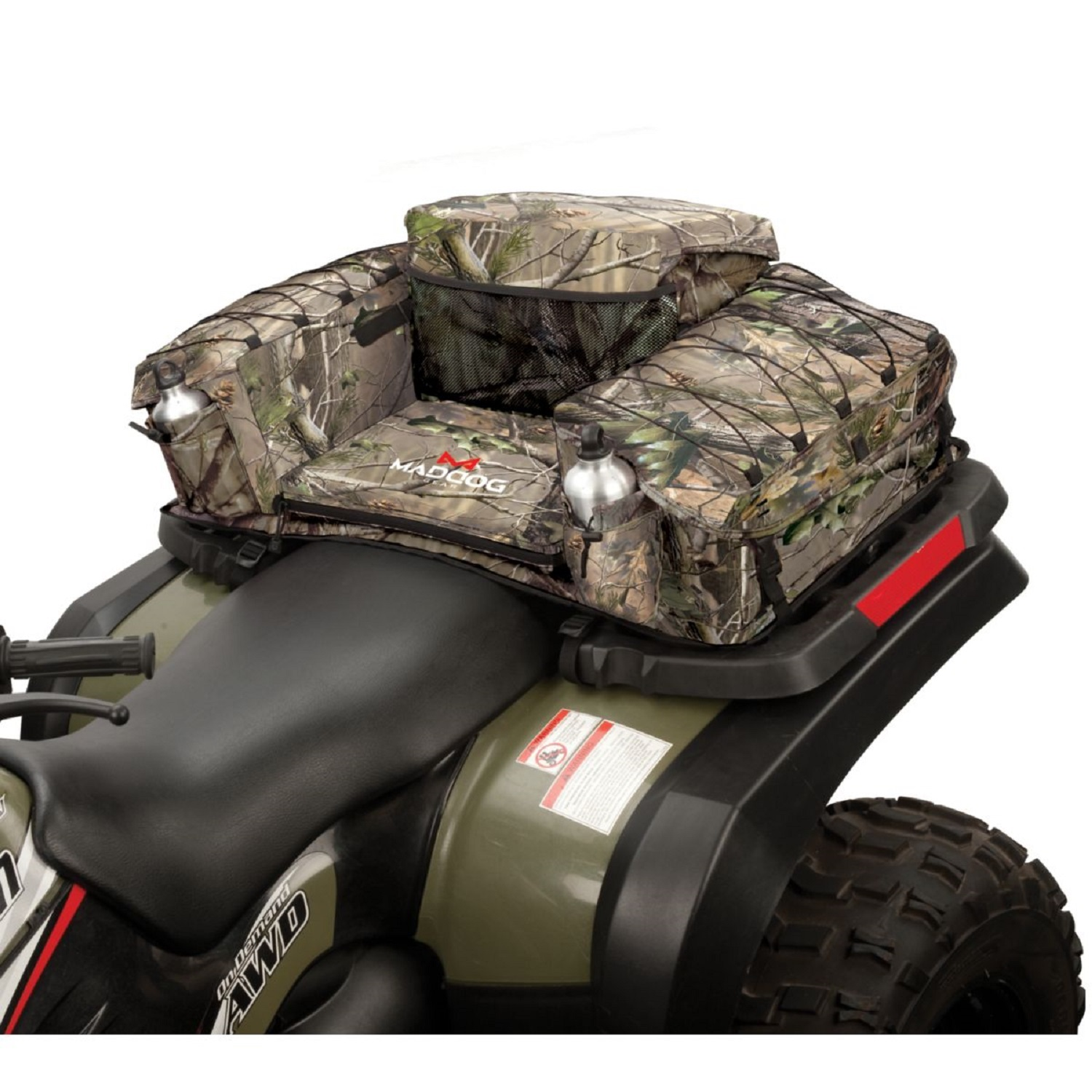 MadDog Gear ATV Rear Padded Bottom Bag RealTree APG Camo