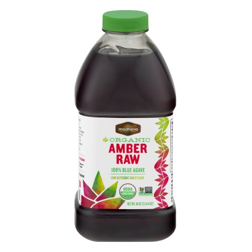 Agave Nectar - Organic - Amber ( 4 - 46 OZ )