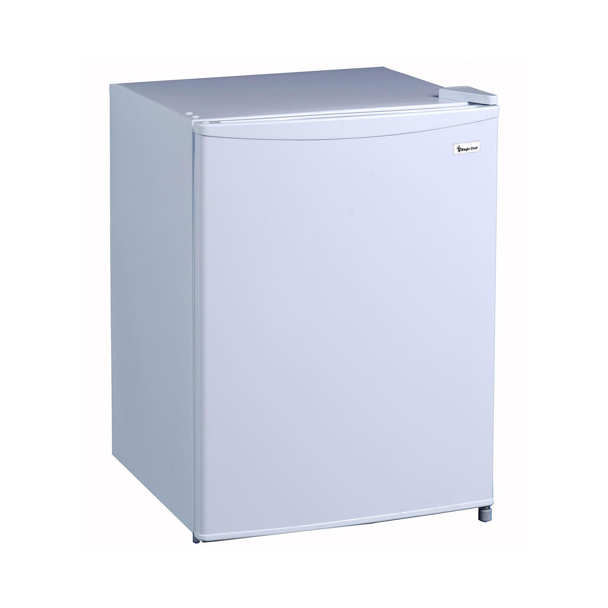 2.4 Compact Fridge with Freezer White