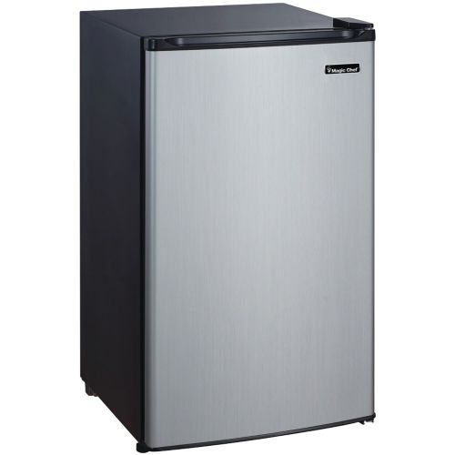 3.5 Compact Fridge with Freezer Stainless Steel