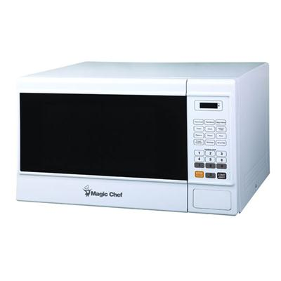 1.3 cu Ft Microwave Oven White