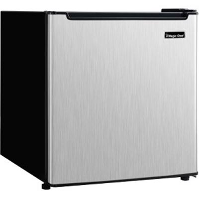 1.7 cf Compact Refrigerator Stainless Steel