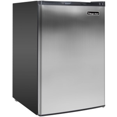 3.0 cf. Upright Freezer SS