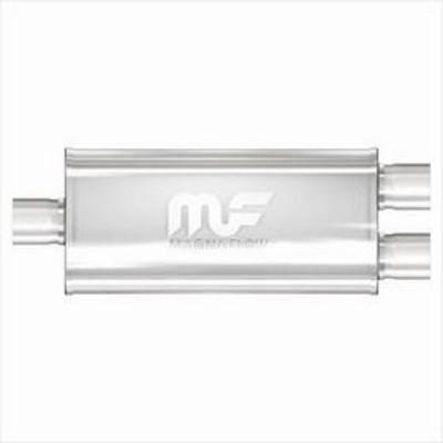 Satin Stainless Steel Muffler