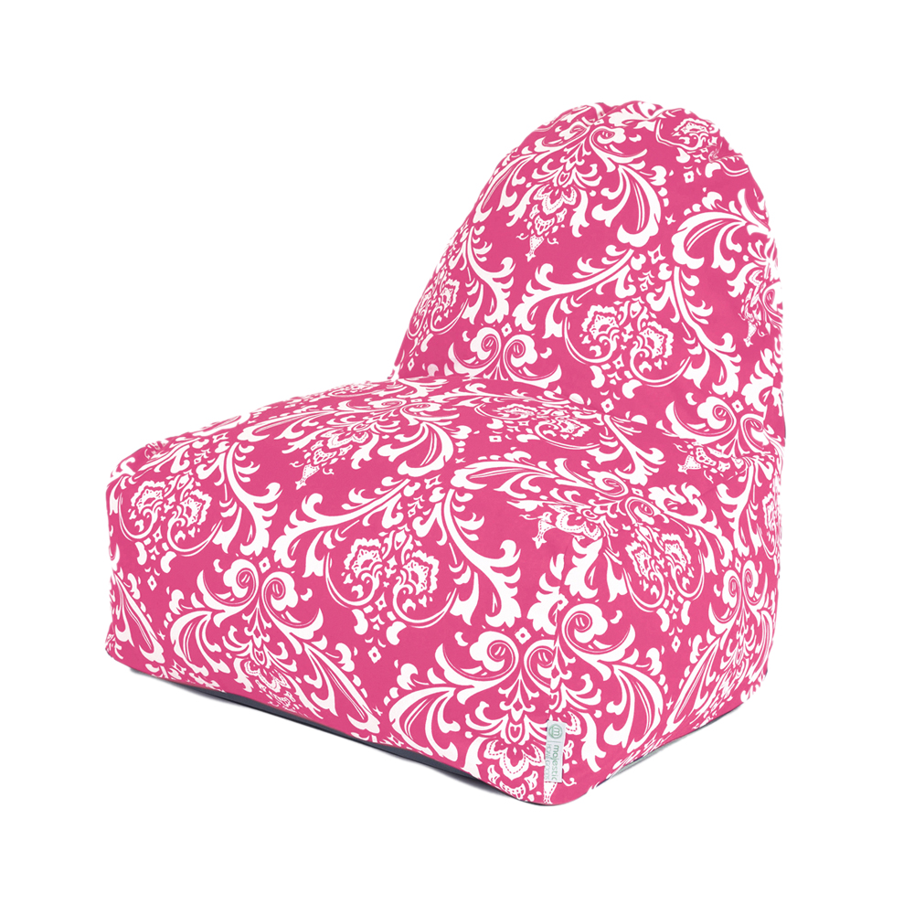 Majestic Home Goods Decorative Hot Pink French Quarter Kick-It Chair